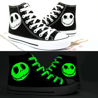 The Nightmare Before Christmas Jack Skellington Casual Canvas Shoes Cosplay - Jack Skellington Cosplay