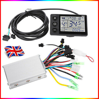 24-48V LCD Electric Bicycle E-bike Motor Scooter Brushless Speed Controller Kit