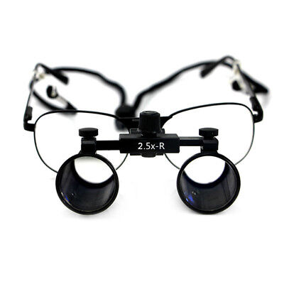 2.5x Dental Loupes Surgical Medical Binocular Optical Glass Dentist Magnifier