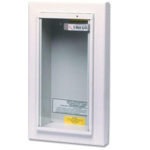 Kidde Fire Extinguisher Semi-Recessed Cabinet (468045) ~ Brand New in Box