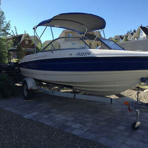 2008 19.5 ft Bayliner 5L V8 Trades Considered
