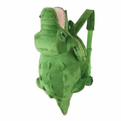 Kids Crocodile School Backpack 3D Boys And Girls Bags Children Book Backpacks