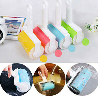 Washable Roller Cleaner Lint Sticky Picker Pet-Hair Fluff Remover Brush Reusable