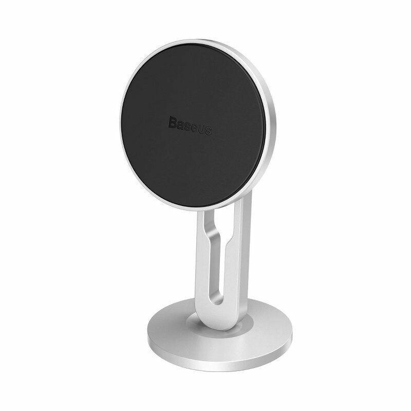 Baseus Supporto Auto Magnetico per Smartphone - Porta Telefono Magnete Silver