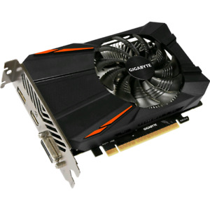 4gb GTX 1050ti Gigabyte Graphics card