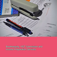 Bookkeeping, HST Submission and Income Tax Preparation Services