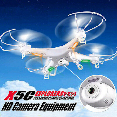 Alfresco Sports X5C 2.4Ghz 6-Axis Gyro RC Quadcopter Drone W/ 2MP HD Camera