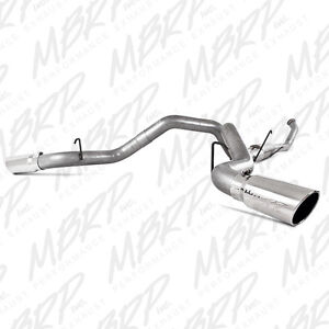 "07-09 DODGE 6.7 CUMMINS 4"" TURBO BACK DUAL EXHAUST DPF DELETE"