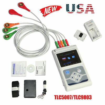 Tlc50079803 Holter Ecgekg Dynamic 3 Channel 24 Hours Recorderfree Pc Software