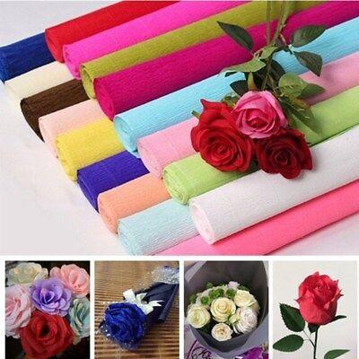 Crepe Paper Roll Streamer DIY Paper Flower Craft Party Wedding Birthday Decor  - Crepe Paper Streamer