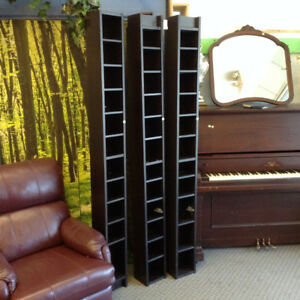 Tall Media Storage Shelves