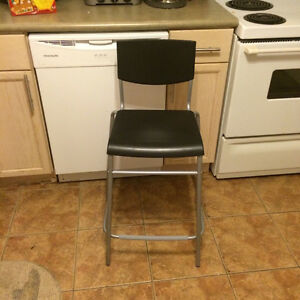 SELLING IKEA BAR STOOLS - set of 2- like new , $75 obo for set