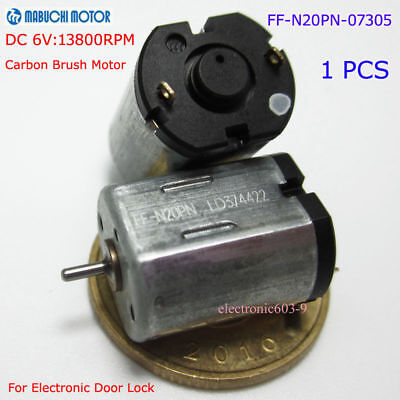 MABUCHI FF-N20PN Motor DC 3V-9V 6V 13800RPM Micro 10mm for Electronic Door Lock  for sale  Shipping to Ireland