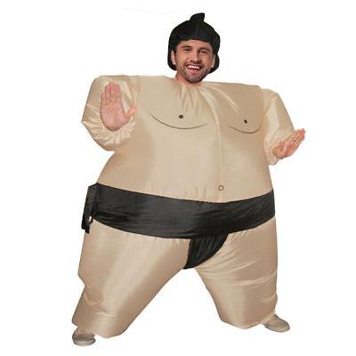 Adult Sumo Sumou Wrestler Halloween Cosplay Costume Inflatable Suit Clothes - Sumo Suit Halloween Costume