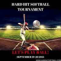 Hard Hit Softball Tournament 2015