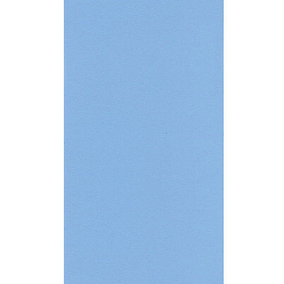 24' ft Round Above Ground Plain Blue Overlap Swimming Pool Liner 25 Gauge