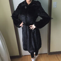 natural fur /mink coat