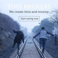 We create TIME and MONEY.  Here's how.