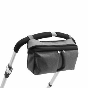 Bugaboo Grey Melange Stroller Organizer Bag Handle