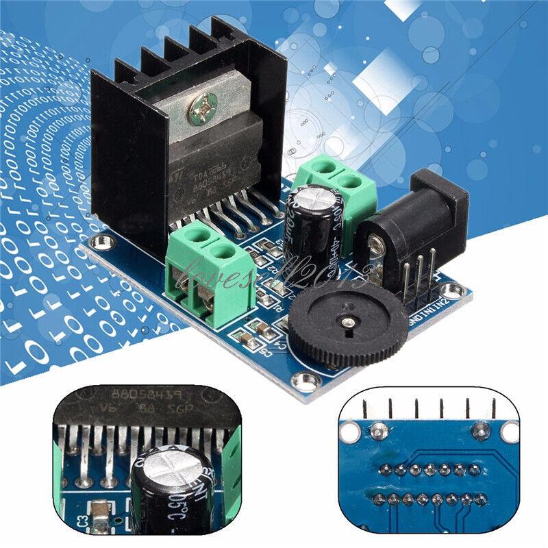 DC 6-18V TDA7297 Power Amplifier Module 2x15W Double Channel 10-50W