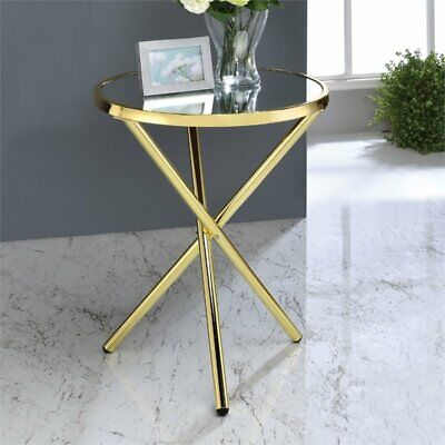 ACME Furniture 81817 Lajita Side Table, One Size, Mirror and