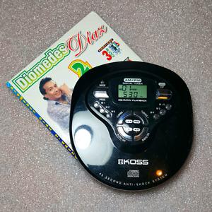 Walkman KOSS CDP2146-4  PORTABLE CD PLAYER