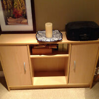 Media centre and shelving unit, coffee table all for $50 OBO