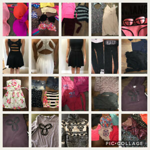 Ladies size 0-2 brand name clothing