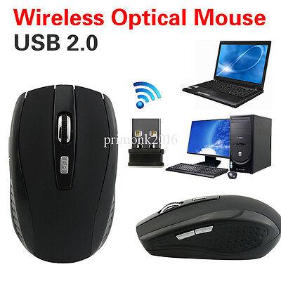 - Ultra-Slim Mini USB 2.0 Wireless Optical Wheel Mouse Mice for PC Laptop HP TOP