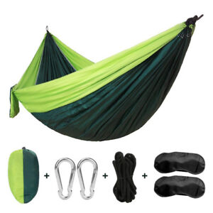 Single&Double Camping Hammocks Garden Hammocks Lightweight