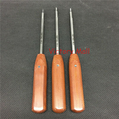 1 Set Of Bone Screw Drivers Kit 1.21.52.0mm Hex Head Orthopedics Instrument