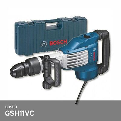 Bosch Gsh 11 Vc Demolition Hammer 1700w 23j 9001700bpm 320rpm Sds Max 11kg Ups