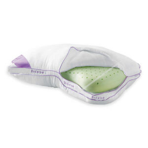 Brookstone® BioSense™ Memory Foam 2-in-1 Shoulder Pillow