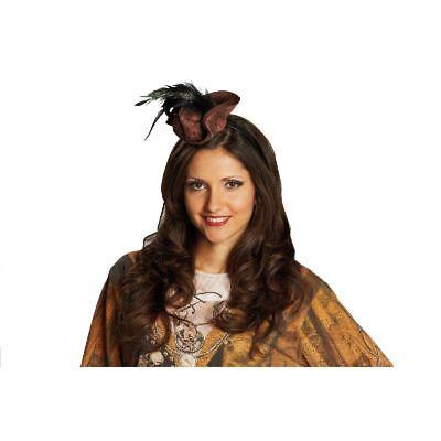 Rub - Haarreif mit Miniatur Piratenhut zu Kostüm Piratin an - Piraten Kostüm Haar