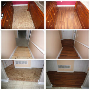 Flooring Installation, Hardwood and Laminate Kawartha Lakes Peterborough Area image 2
