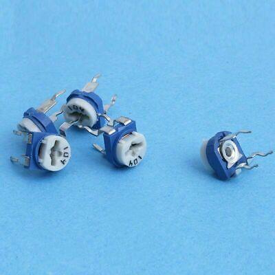 130pcs 13 Values Variable Resistor Assortment Kit Potentiometer Rohs Compliant