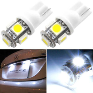 T10 5050 W5W 5 SMD 194 168 LED White Car Side Wedge Tail Light