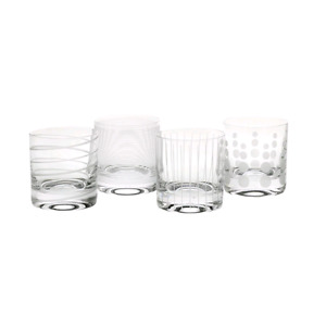 Cheers by Mikasa Double Old Fashioned 8pc set