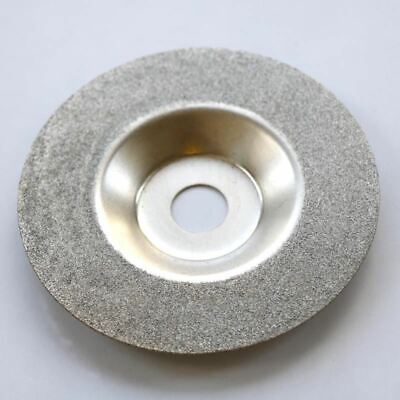 BUYITNOW Diamond Grinding Wheel Dresser Grinding Disc Dressing Bench Grinder Grinding Tool with Flat Diamond Coated Surface Correct Grind Dresser Grip Handle 45 100mm