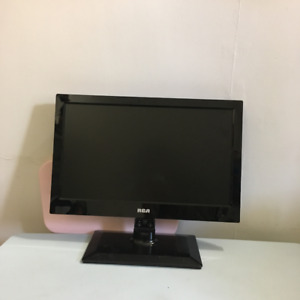 19'' RCA TV with wall mount included!