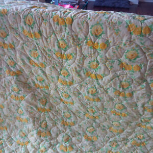 Beautiful Quilted Bedspread / Quilt Kitchener / Waterloo Kitchener Area image 2