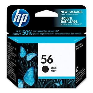 HP Printer Cartridge 56 - unopened (Black ink only)