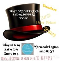 May Long Weekend Showstoppers Event