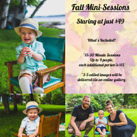 Fall Mini Sessions Starting at $49