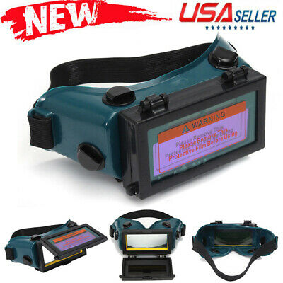 Hot Pro Solar Auto Darkening Welding Mask Helmet Eyes Goggle Welder Glasses