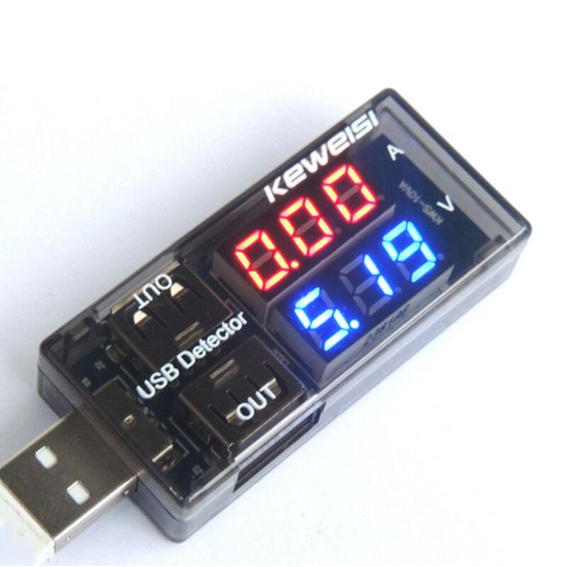 For Phone PC USB Current Voltage Detector Voltmeter ammeter