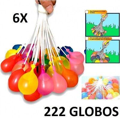 6X RACIMO GLOBOS DE AGUA 222