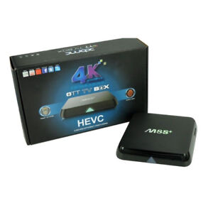 M8S+ Android TV Box Android 5.1 S812 KODI 17.4 installed