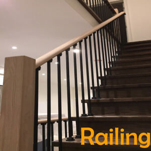 Exclusive Stair's iron railing