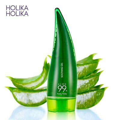 HOLIKA HOLIKA 99% Aloe Vera Gel Skin Care Remove Acne Moisturizing Day Cream Sun